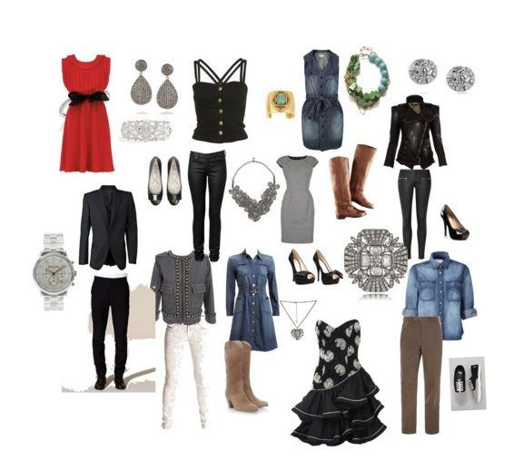 Denim And Diamonds Theme Clothing