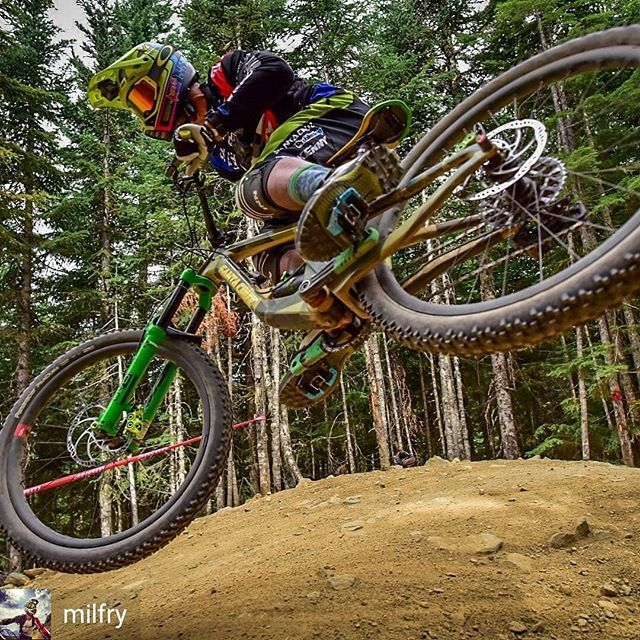 Rad Photo From Last Year 2017 Crankworx Whistlerbikeprk Aline