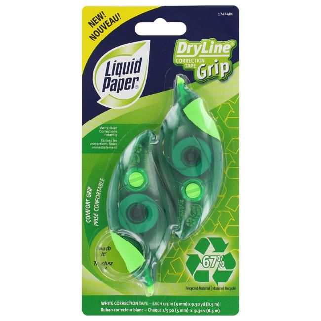 Liquid Paper DryLine Grip Correction Tape