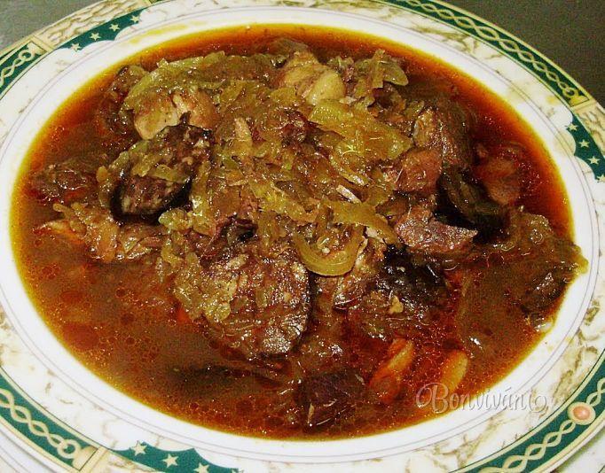 Tatranská kapustnica - Slovak Christmas sauerkraut soup - classic!