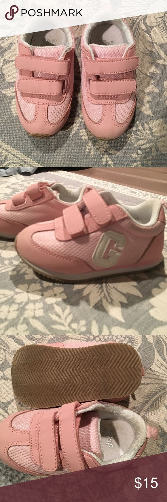 Gap kids sneakers Excellent condition gap kids pink sneakers. New bad odor, non smoking home. GAP Shoes Sneakers