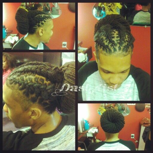 Dreads style for men