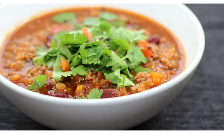 Healthy chilli con carne - Kidspot