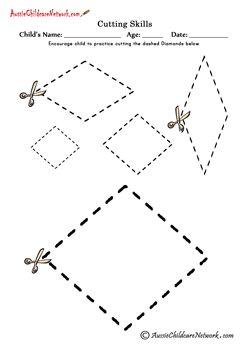 Cutting Shapes cutting diamonds