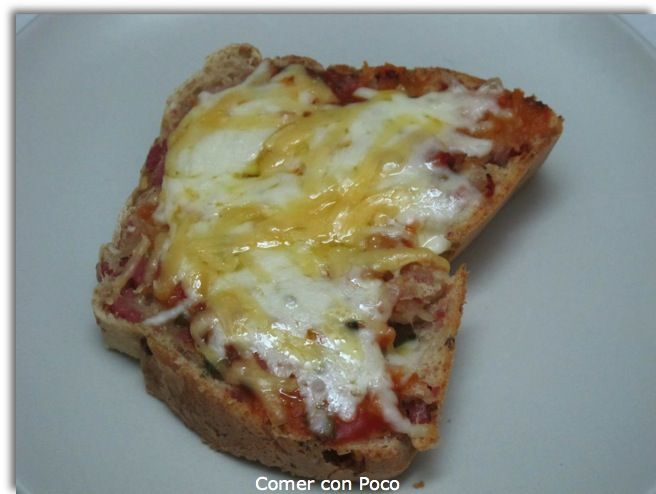 Pizza Pan | Comer con poco