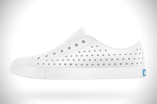 Native Jefferson White Shoes