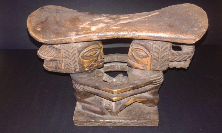 Esta almofada diferente pode ser sua - Arte Africana.