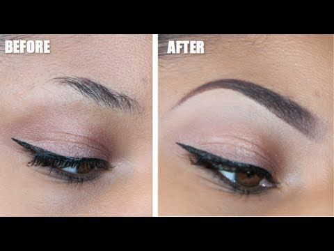 The Perfect Eyebrow | Tutorial - especially if you have short eyebrows.