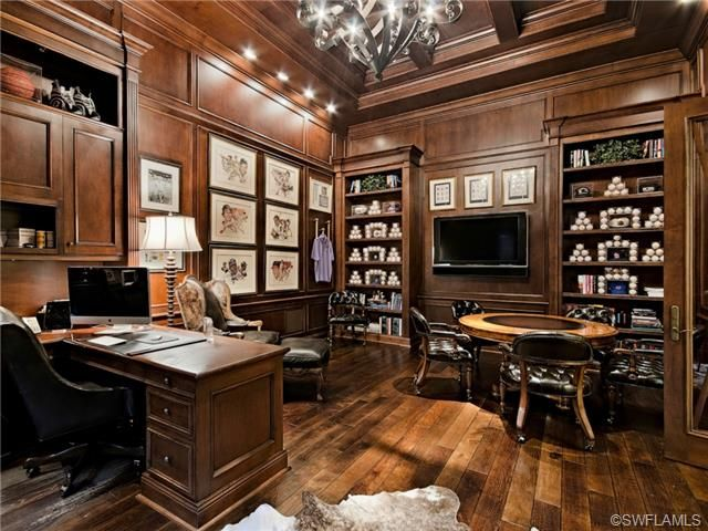 Traditional Home Office Ideas. Executive Home Office Ideas. Traditional    Baseball Collection In Verona
