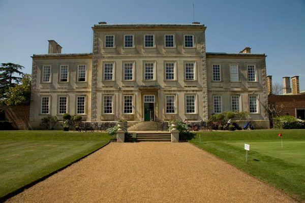 Harrowden Hall.  Vaux family estate now a golf club.