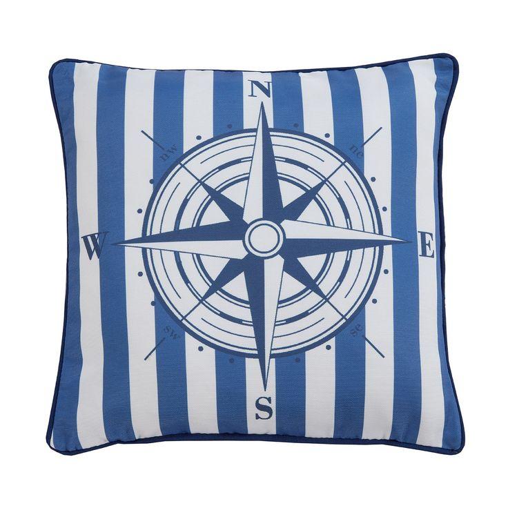 Julian Charles compass cushion