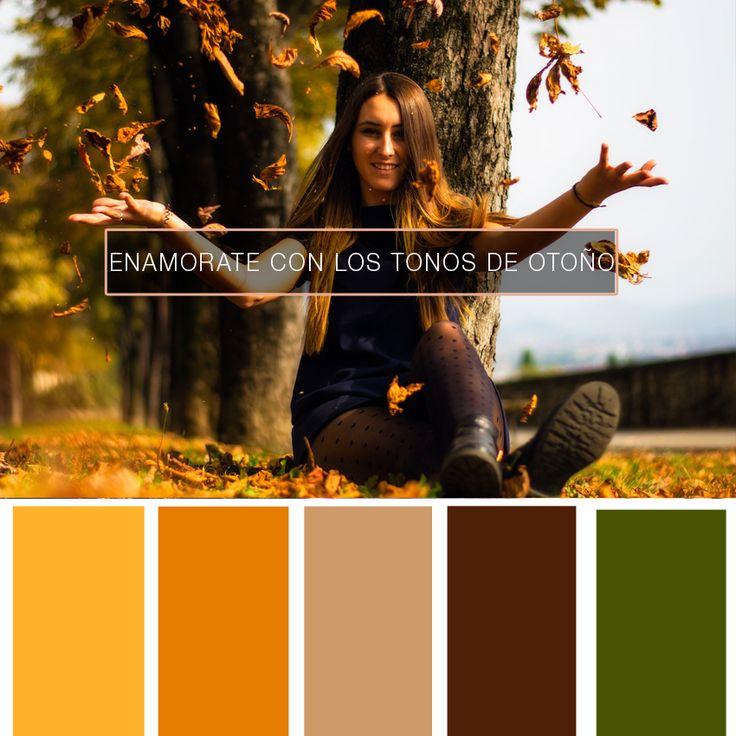 ¡Le damos la bienvenida al #otoño y los tonos que nos regala!  #EnamorateDeTusPrendas