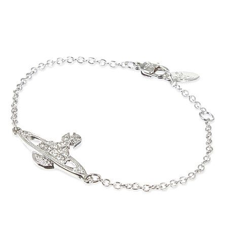 VIVIENNE WESTWOOD JEWELLERY Bas Relief Orb bracelet (Silver