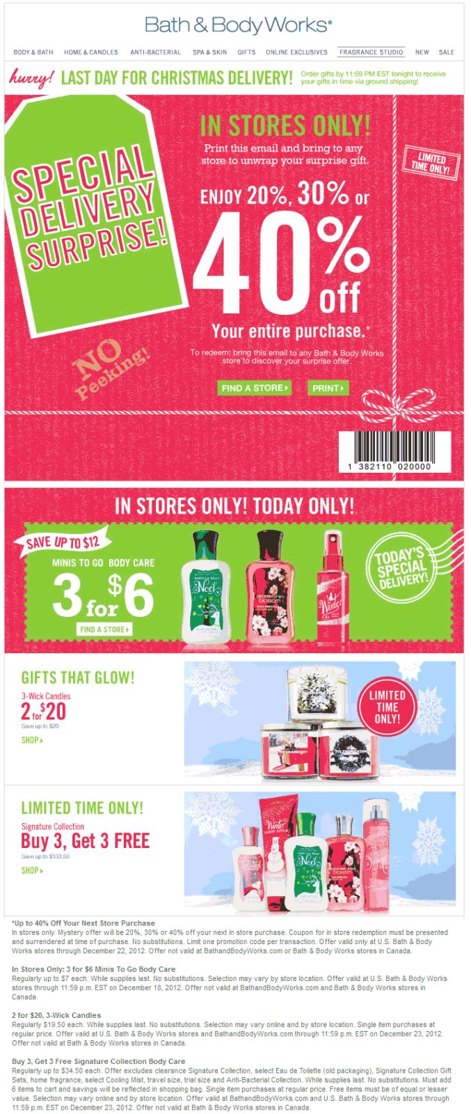 Bath   Body Works coupon   Bath   Body Works promo code from The Coupons  App  Random off everything at Bath   Body Works October. 32 best Good coupons  images on Pinterest   Coupons  Coding and