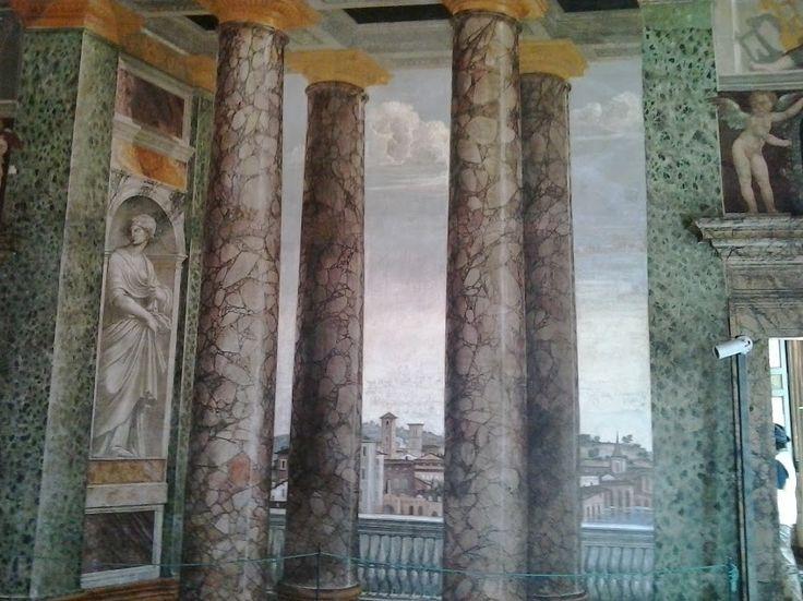 Perspective Room - Villa della Farnesina