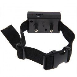 BK-17 Automatic Microprocessor Anti-bark Dog Training Collar for 1 Dog (Black)