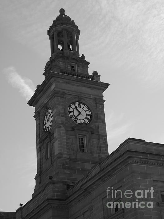 Time Goes By ~ Courthouse Tower in Norwalk Ohio