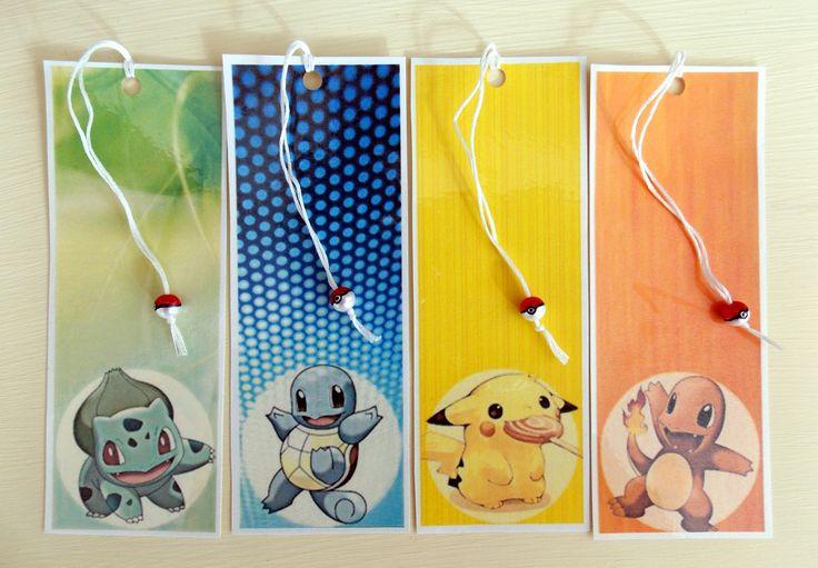 Pokemon bookmarks!