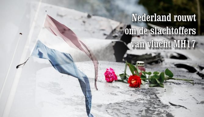National Day of Mourning, The Netherlands.......23/07/2014
