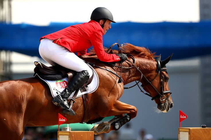 Ludger Beerbaum of Germany rides Casello during the Team Jumping on Day 11 of the Rio 2016 Olympic Games at the Olympic Equestrian Centre on August 16, 2016 in Rio de Janeiro, Brazil.