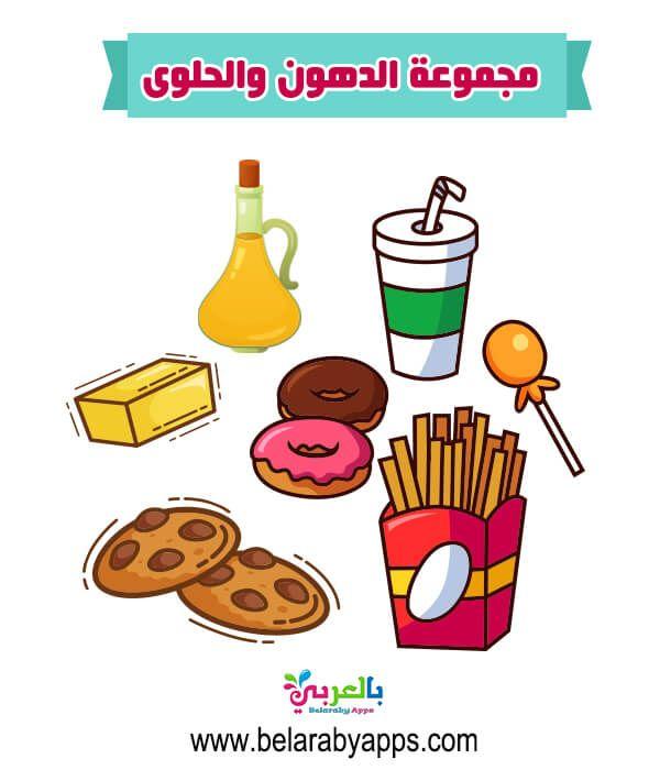 صور المجموعات الغذائية ملونة للاطفال وحدة الغذاء والهرم الغذائي بالعربي نتعلم In 2021 Childhood Kids