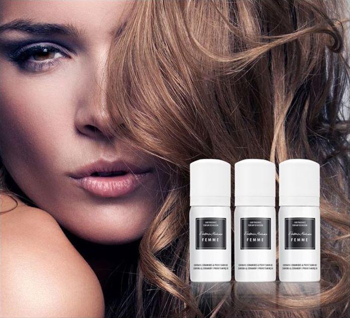 Parfémy na vlasy Federico Mahora zajistí, že tvoje vlasy budou mít omamnou vůni a přirozený vzhled. Byly obohaceny polymery, které jemně zpěvňují vlasy, dodají jim lesk a zvětšují jejich objem. Objem:  50 ml