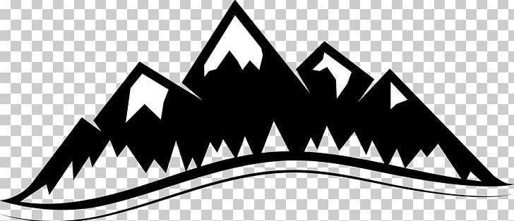Mountain Png Angle Black Black And White Clip Art Color Art Logo Clip Art Art