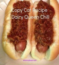 Copycat Dairy Queen Hot Dog Chili Sauce!