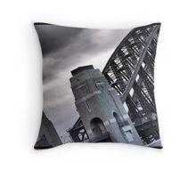 Sydney Harbour Bridge detail cushion.