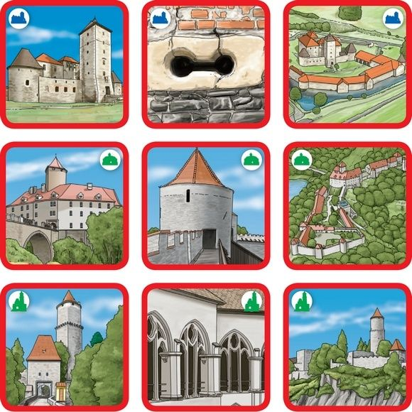 Pexetrio Znáš naše hrady?
