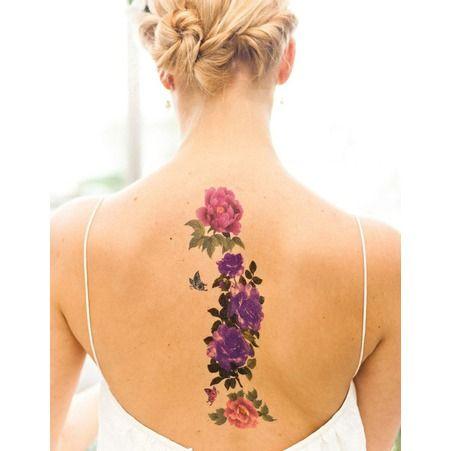 Idée tatouage : des fleurs aux jolies couleurs - Les 40 plus beaux tatouages de Pinterest - Elle