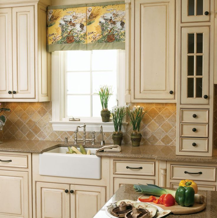 French county kitchens portfolio home improvement for Small white country kitchen