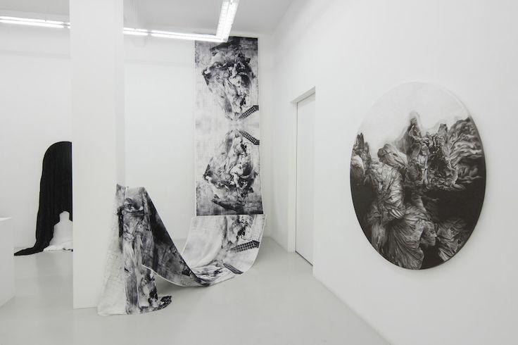 Patricia Perez Eustaquio, Installation view for Flowers for X, 2016. Yavuz Gallery
