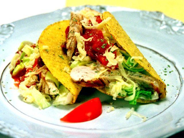 Tacos med grillad kyckling (kock recept.nu)