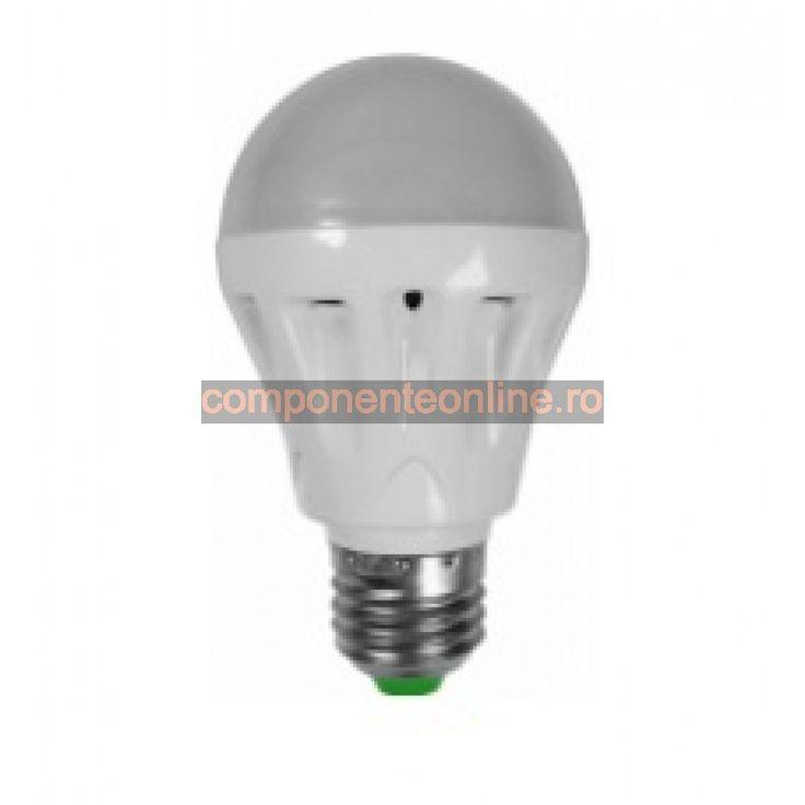 Bec cu LED, 3W, dulie E27, lumina alb, rece - 158251