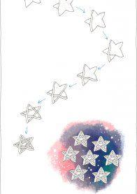 Простой Дудлинг урок звезды