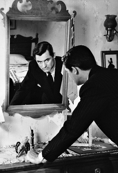 Archie Leach looking at Cary Grant?