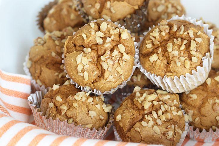 Recipe:+Skinny+Pumpkin+Spice+Muffins
