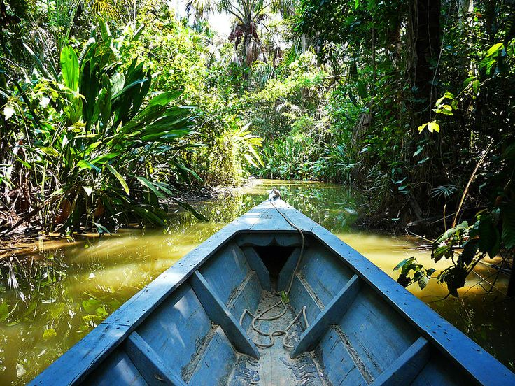 Peru Amazon Boat Photograph  - Peru Amazon Boat Fine Art Print