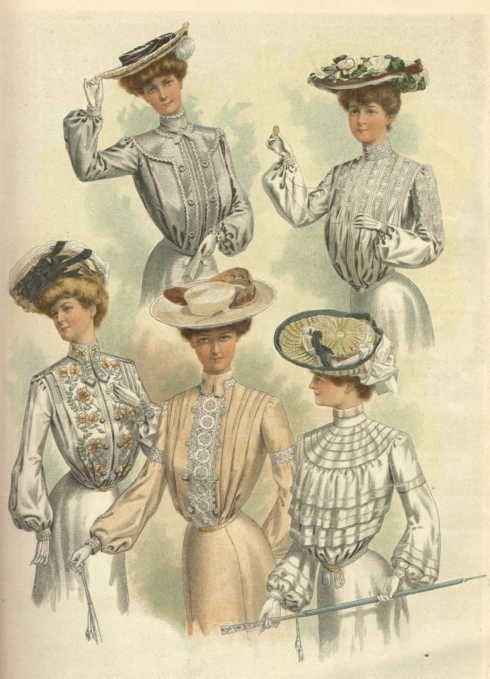 early 1900s fashion hats - photo #6