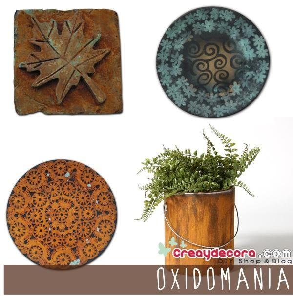Aprendemos cómo hacer un óxido auténtico. Bienvenida OXIDOMANÍA!!!   Hacer bricolaje es facilisimo.com