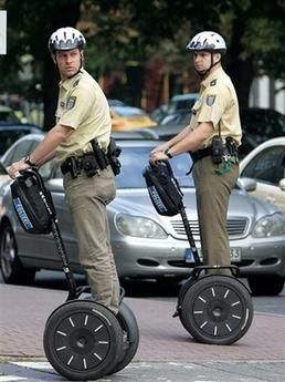 """#HyperPowerSports is selling a compact means of transportation, named the """"#SegwayScooter,"""" which allows us to travel to our destination quickly and safely. It can be used as the personal vehicle for the police officers in the metropolitan cities of #USA. It will be helpful for regular patrolling and to control crowds."""