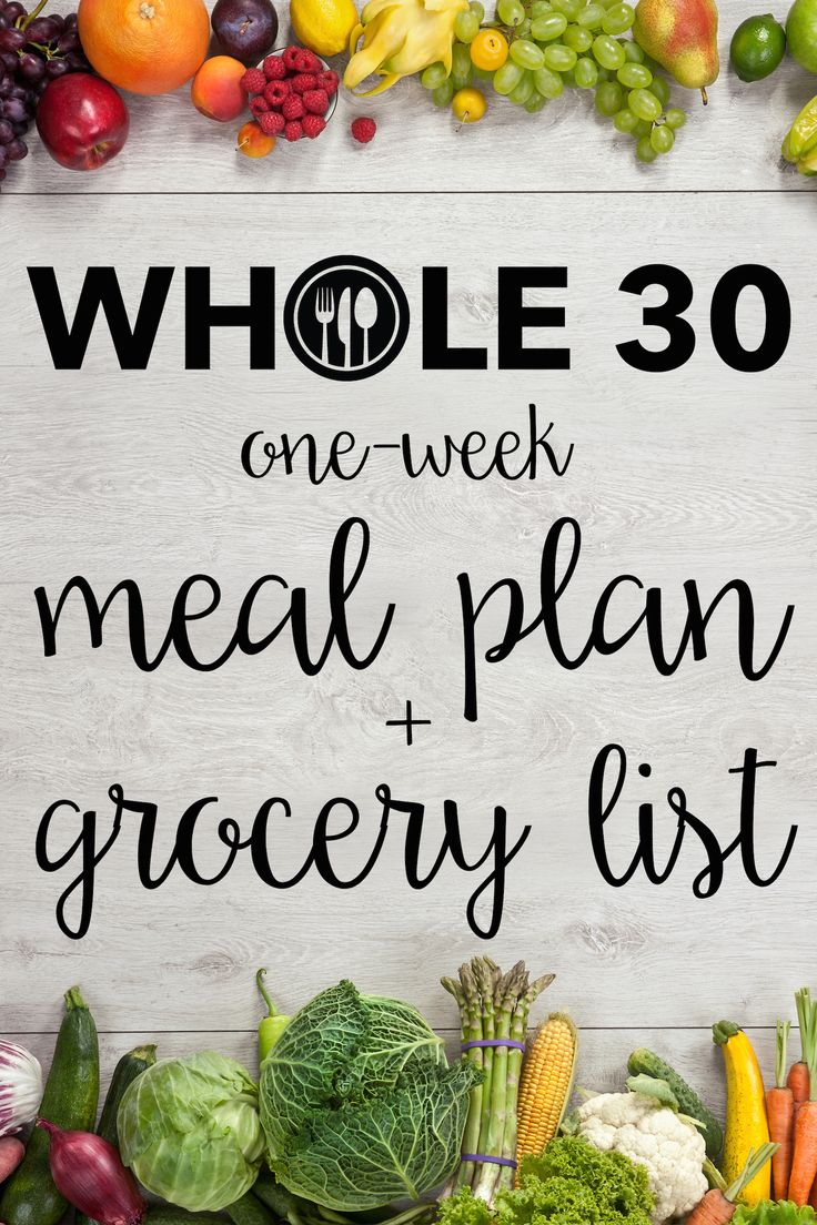 Thinking about trying the Whole30? We've got everything you need for a one-week trial!