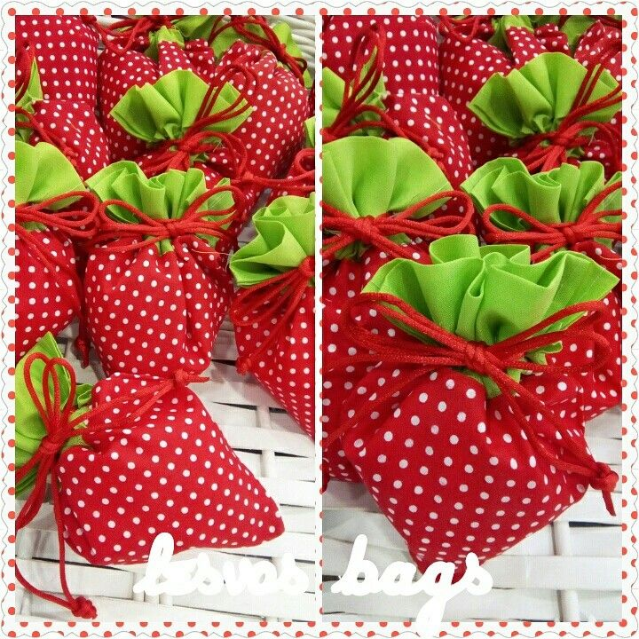 Strawberry favors