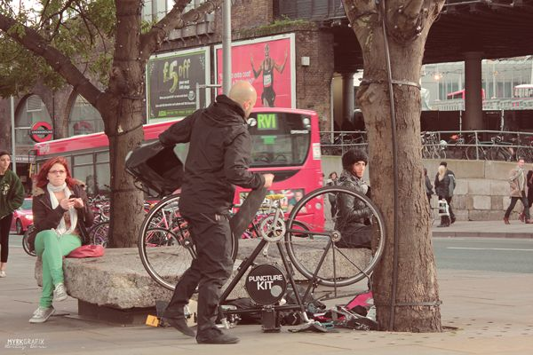 bicycle music in London