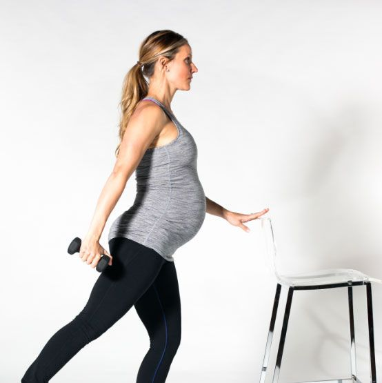 Build strength for an easier pregnancy and delivery with these five barre exercises!