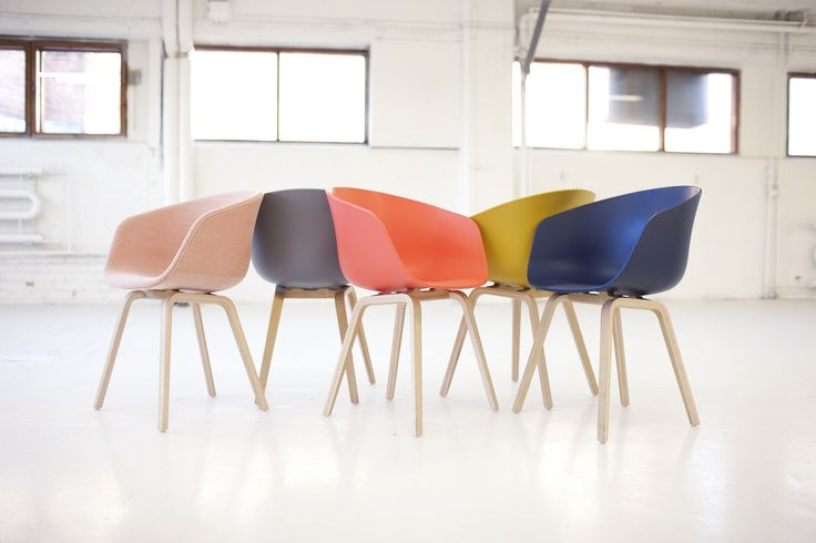 Fauteuil About a chair / 4 pieds - Hay http://www.madeindesign.com/prod-fauteuil-about-a-chair-4-pieds-hay-ref4033003.html