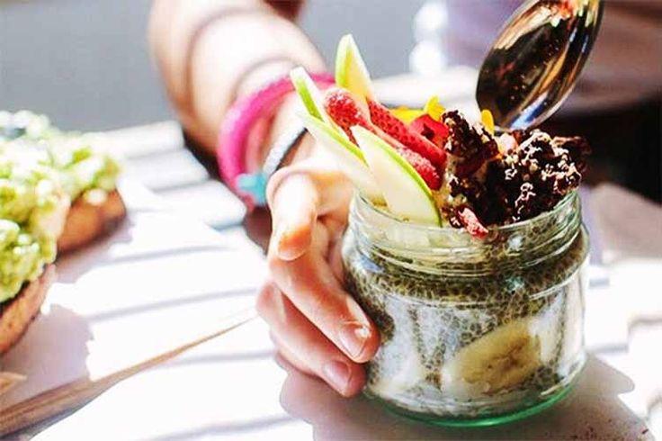 Vegan and raw food options