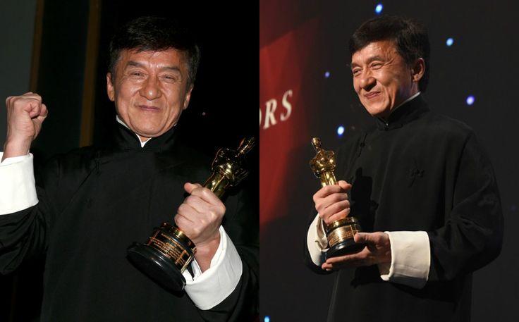Selepas 56 tahun bergelar pelakon akhirnya Jackie Chan terima trofi Oscar   Impian pelakon terkenal Jackie Chan untuk memiliki trofi Oscar tercapai selepas 56 tahun berada dalam industri perfileman.  Menurut Jackie keinginannya untuk memiliki anugerah tersebut timbul selepas melihat satu trofi Oscar di rumah aktor Sylvester Stallone kira-kira 23 tahun yang lalu.  Selepas 56 tahun bergelar pelakon akhirnya Jackie Chan terima trofi Oscar  Selepas 56 tahun dalam industri terlibat dengan lebih…