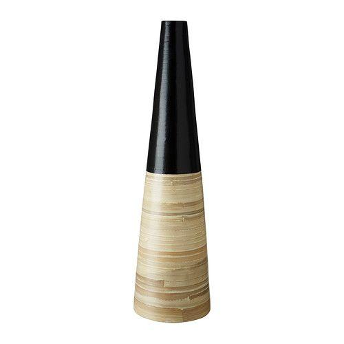 "Bamboo, the ""new"" wood!  -  VINÄGER Decorative vase - IKEA"